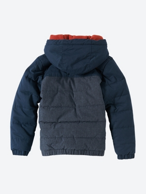 Padded Jacket with Cosy Fleece Lining