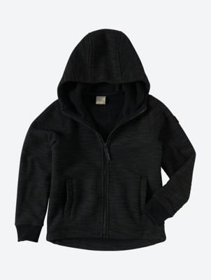 Hooded Jacket with Thumbholes