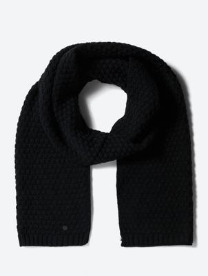 Schal mit Strick-Muster