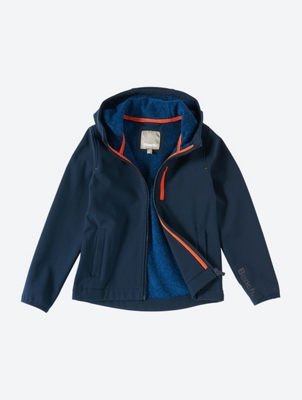 Lightweight Softshell Jacket with Fleece Lining