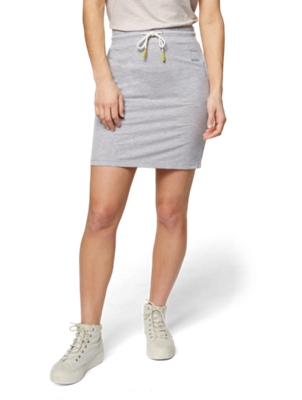 Skirt with Slit Pockets
