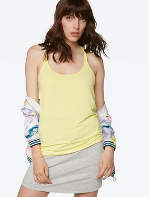 Sporty Top with Knot Detail