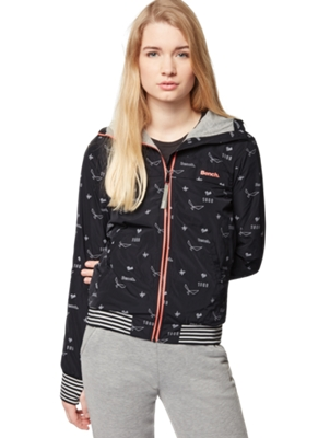 Jacket with Allover Print