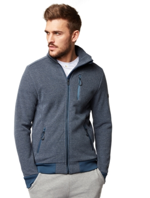 Jacket with Zip Pocket on the Chest