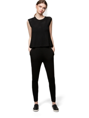 Jumpsuit with Removable Bolero