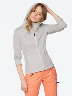 Soft Sweat Jacket with Fine Dot Pattern