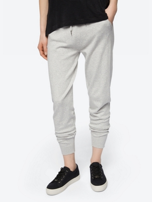 Fine Knit Joggers with Drawstring Waistband