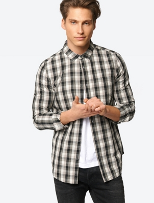 Checked Shirt with Patch Chest Pocket