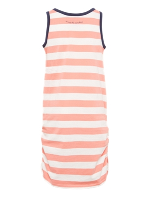 Dress with Striped Pattern