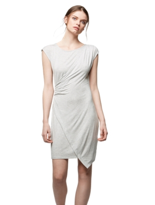 Dress with Wrapped Look on the Front