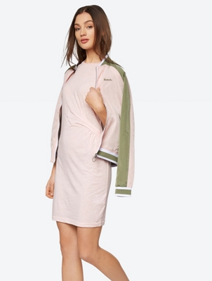 Sleeveless JerseyDress with Ruched Side Detail
