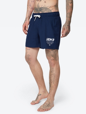 Short Swim Shorts with Drawstring Waist