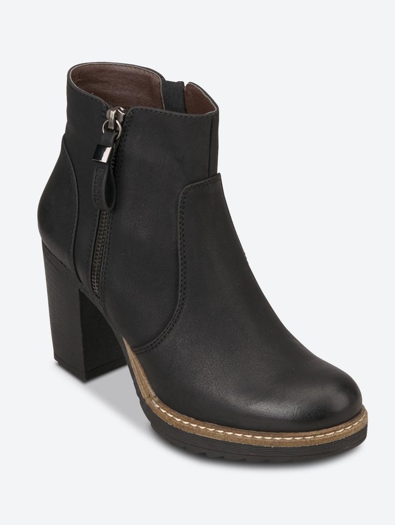 Bench Schwarz Ladies Boots Größe 39