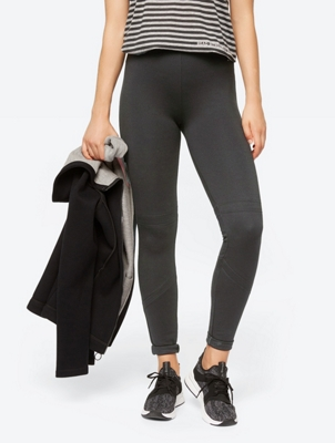 Leggings with Wide Elasticated Waistband