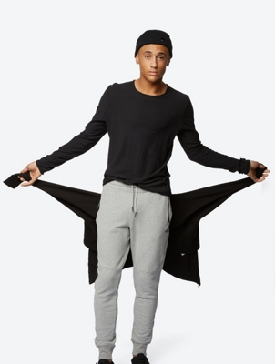 Long Sleeve Lenient with Open Seams