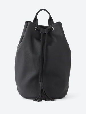 Rucksack in Leder-Optik