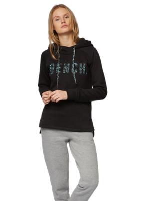 Sweatshirt mit Kapuze und Bench-Motiv vorne