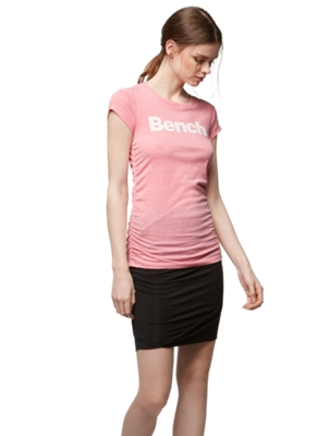 T-Shirt with Elasticated Gathered Sides