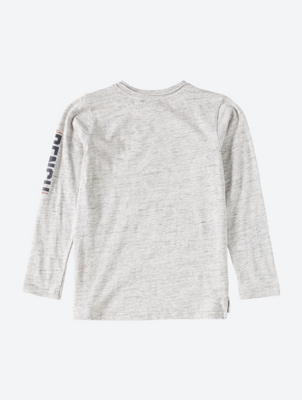 Langarmshirt mit Bench-Print am Arm