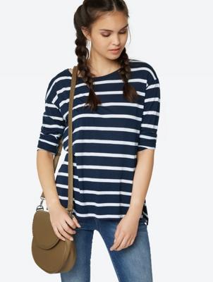 Long-Sleeve Shirt Brio in Stripe Design