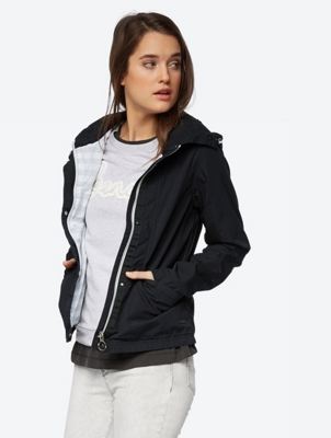 Lightweight Jacket with Packable Hood