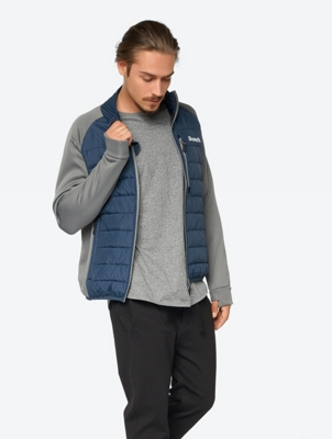 Lightweight Quilted Jacket with Synthetic Down