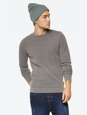 Lightweight Jumper Comradeship with Purl Knit