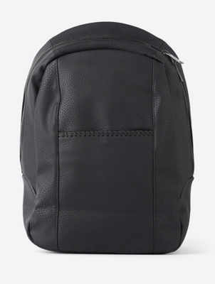 Stylish Backpack in Authentic Leather Look