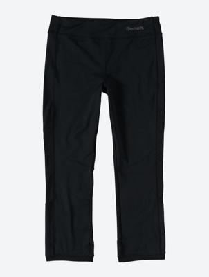 Plain Capri Leggings with Reflective Details