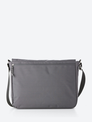 Spacious Messenger Bag with Bench Logo