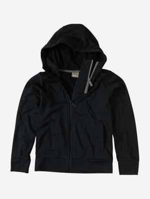 Hoodiewith Asymmetrical Zip