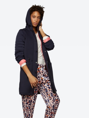 Padded Parka with Removable Sleeves