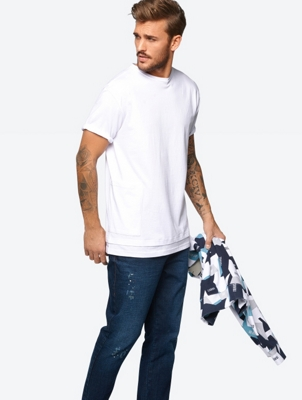 Plain T-Shirt with Pocket