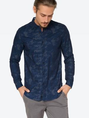 Navy Camo Shirt