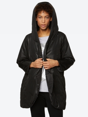Reversible Coat with Water Repellent Finish