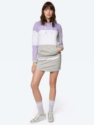 Multi-Coloured Hoodie with Kangaroo Pocket
