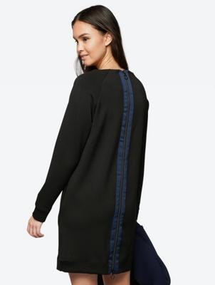 Modern Dress with Rear Zip