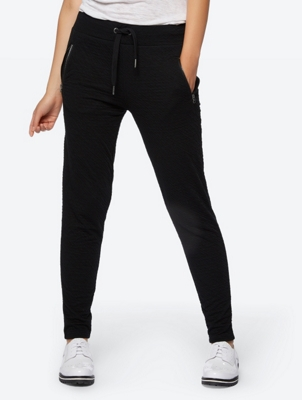 Slim FitTextured Joggers