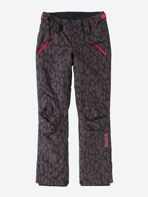 Waterproof Ski Pants with All Over Pattern