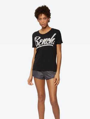 Oversized-T-Shirt mit Front-Print
