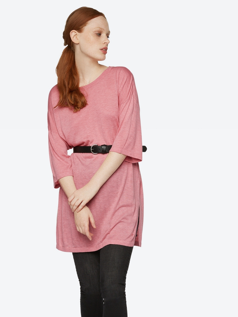 Bench Pink Ladies Knitwear Größe M