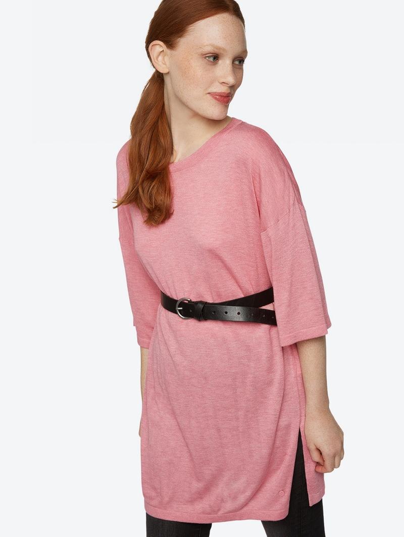 Bench Pink Ladies Knitwear Größe M