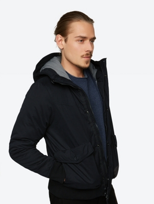 Lined Jacket Pallor with Hood
