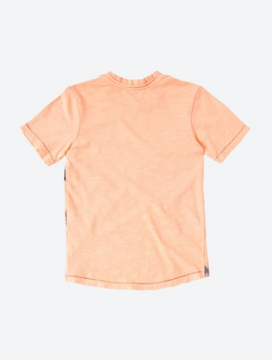 Lightweight T-Shirt with Palm Motif