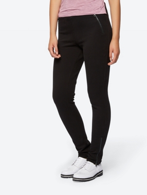 Smart Joggers with Zip Detail