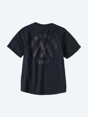 Logo T-Shirt with Rolled Up Sleeves