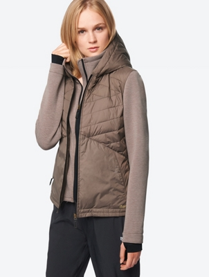 Light Quilted Jacket with Hood