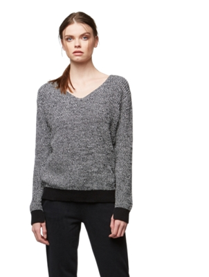 Jumper in a Chunky Knit Look