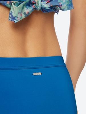 Plain Bikini Bottoms with Elastic Waist