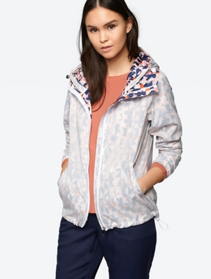 Ultra Lightweight Windbreaker with All Over Pattern